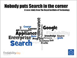 Nobody puts search in the corner - Presentation at the Findability Day 2012 Conference