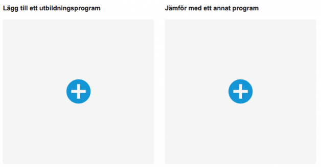 Compare programmes at KTH