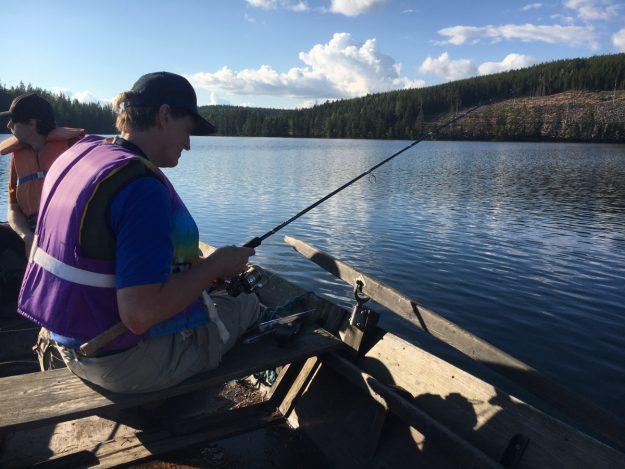 Pär Jönsson fishing