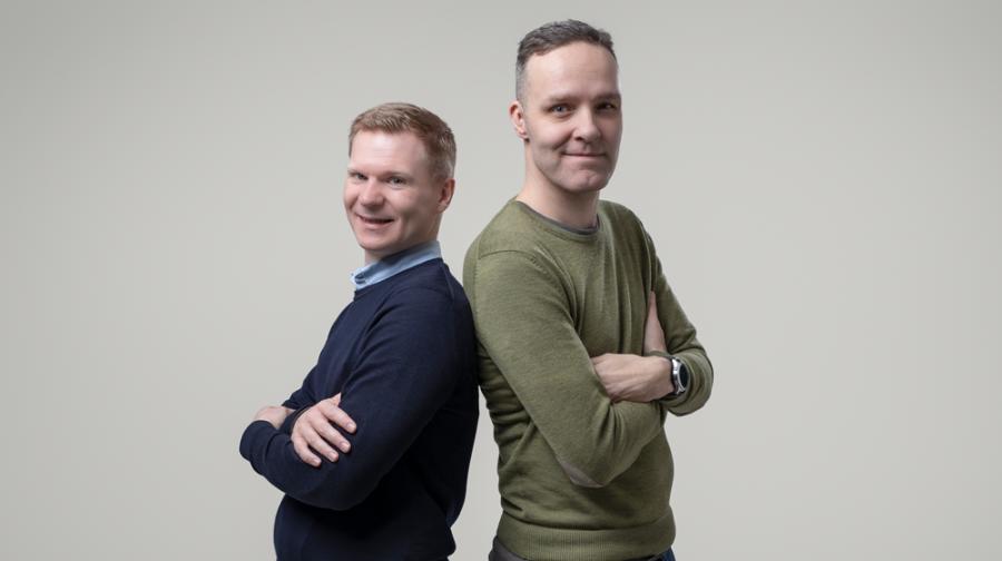 Anders och Puntus porträtt