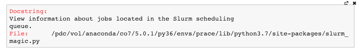 Using Jupyter Notebooks to manage SLURM jobs – PDC Blog