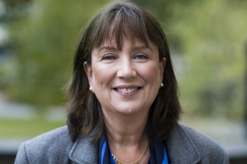 President Sigbritt Karlsson
