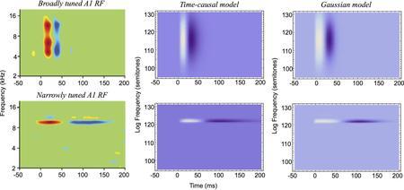 Figure 20 from Lindeberg and Friberg (2015) 'Idealized computational models of auditory receptive fi