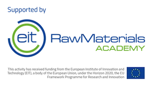 Logo of the EIT RawMaterials Academy