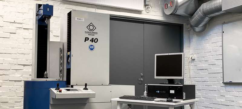 The Klingelnberg P40 measuring machine