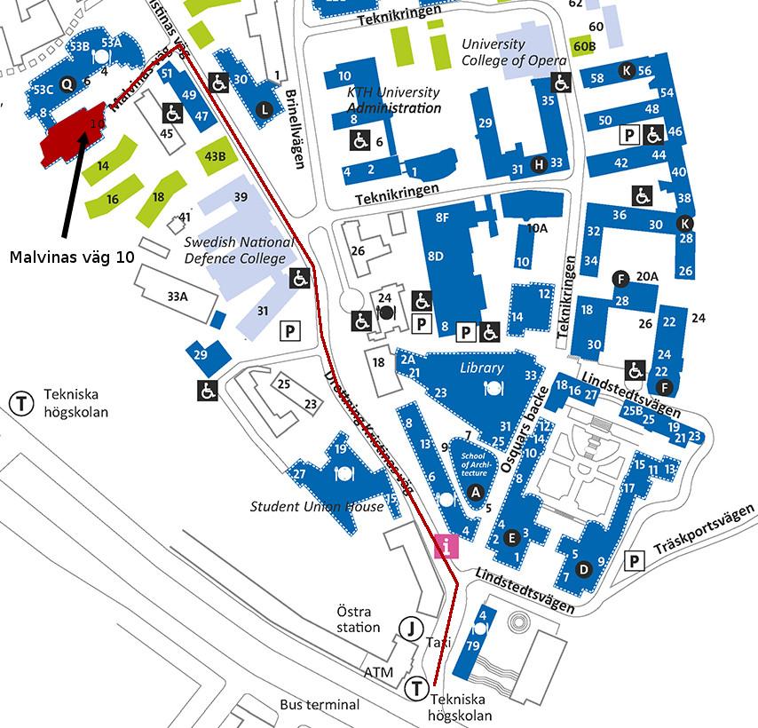 Karta Over Arlanda Flygplats.Information For Besokare Kth