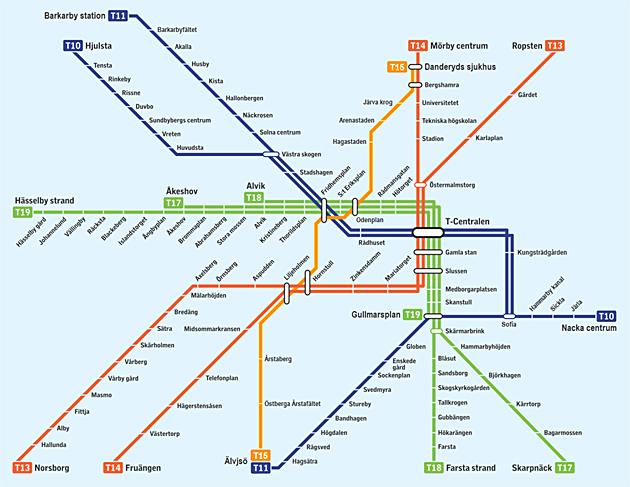 karta tunnelbana stockholm