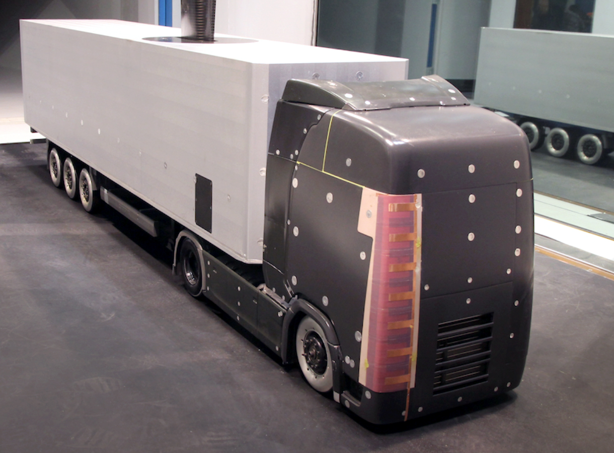 plasma could cut wind resistance for trucks kth