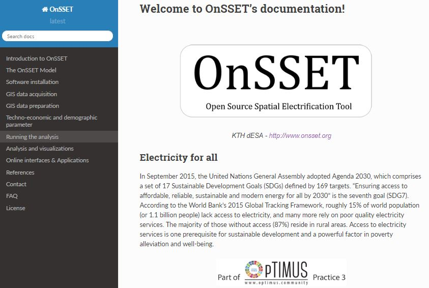 OnSSET GIS methods go open source! | KTH