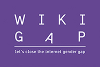 The logotype for Wikigap