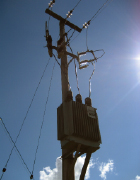 Transformer in the electric distribution system