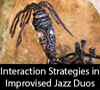 Interaction Strategies in Improvised Jazz Duos