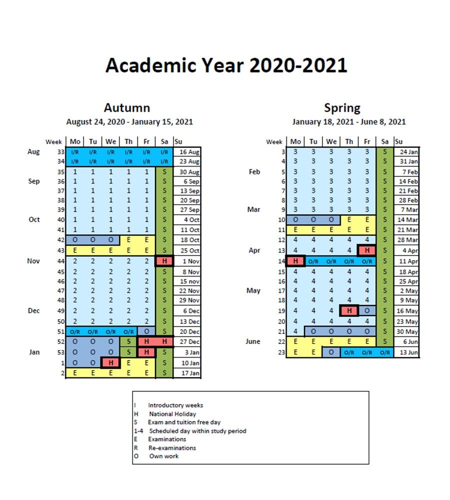 Rit Academic Calendar 2022 2023.2020 2021 Kth