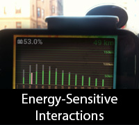 Energy-Sensitive Interaction