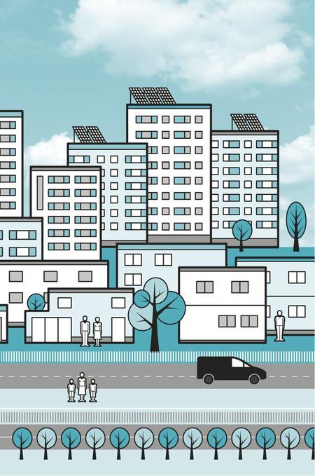 Socioekologisk stadsutveckling. Bild av Chris Knox.