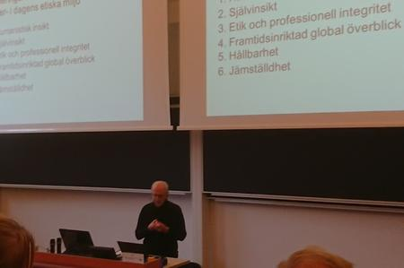 Per Jacobsson berättar om den bildade ingenjören med