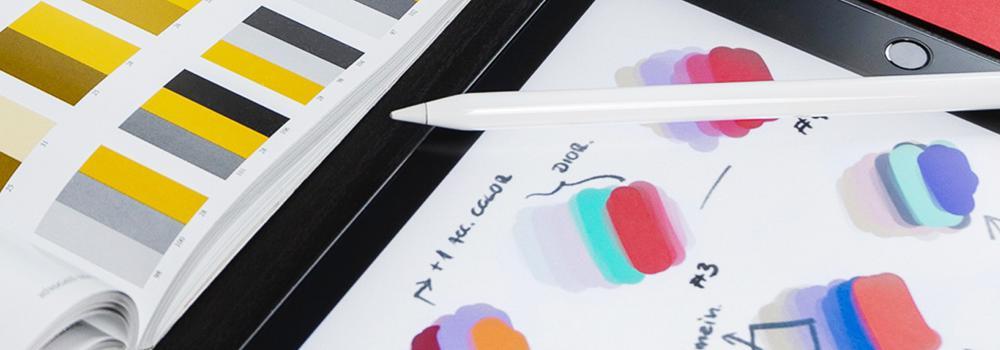 Temabild design och produktframtagning
